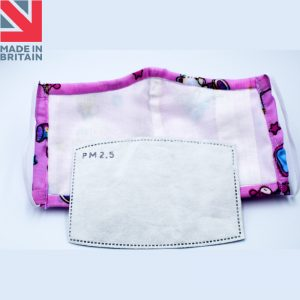 Washable Child (kids) Face Mask with PM2.5 Filters