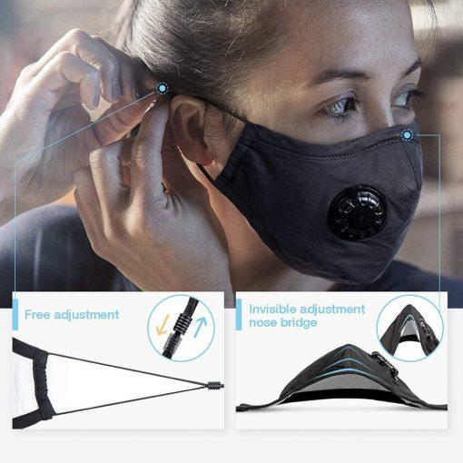 Washable Face Mask Adjustments