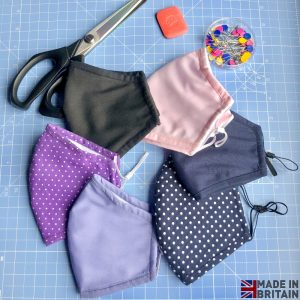Unisex Washable & Reusable Face Mask Made in UK