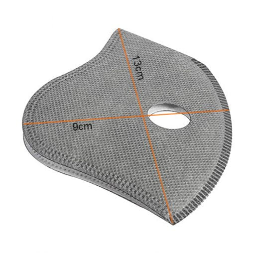 Sports masks PM2.5 activated carbon filter